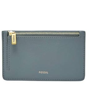 Fossil - Logan Leather Zip Coin Wallet (2/$40)